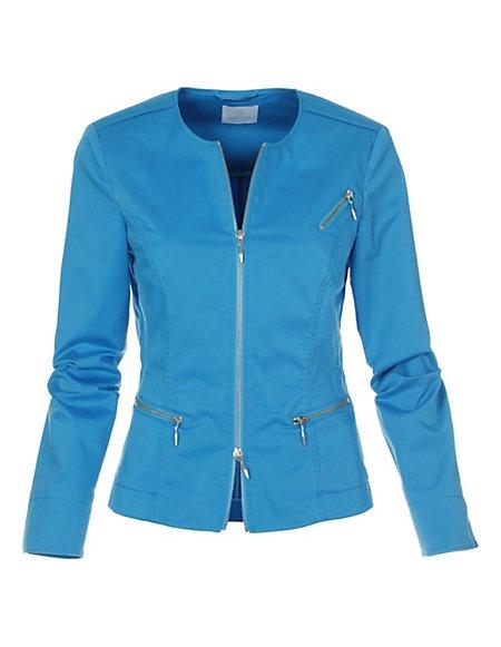 MADELEINE  Blazer Dames azuurblauw / blauw