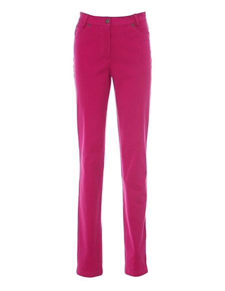 MADELEINE  M-jeans Dames cyclaam / roze