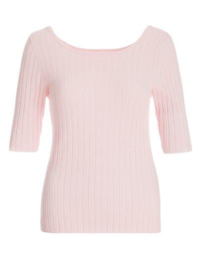MADELEINE  Pull femme rosé / rose pâle