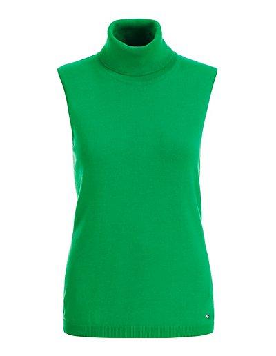 MADELEINE  Pull femme vert pomme / vert