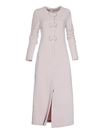 MADELEINE  Robe de chambre femme rose poudré / rose pâle
