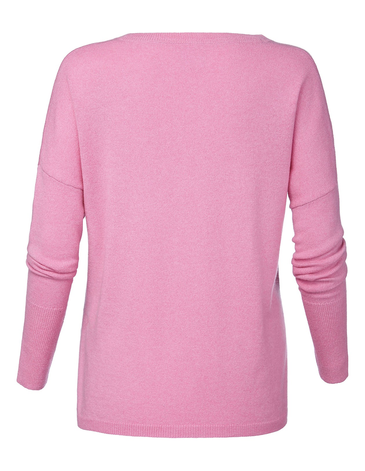 Kaschmirpullover, wildrose, rosa   MADELEINE Mode