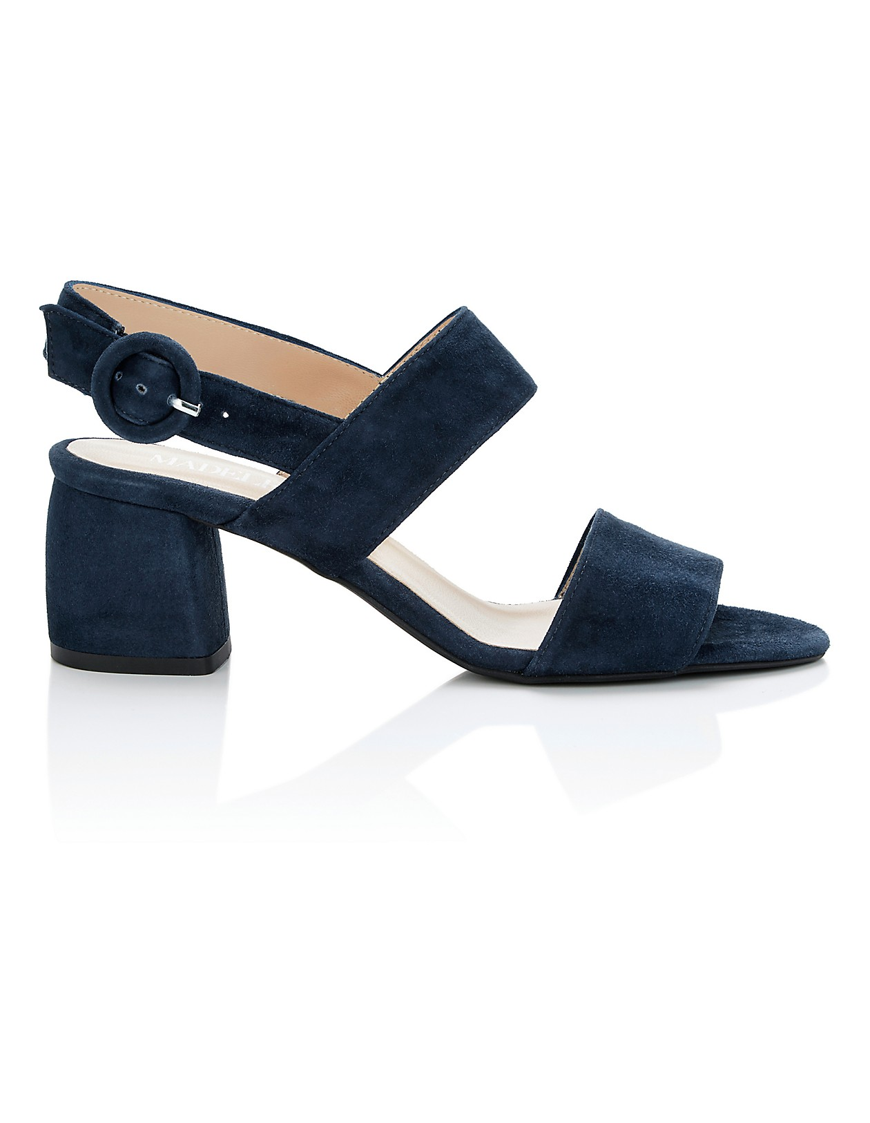 1bba3469383 Block heels, navy, blue | MADELEINE Fashion